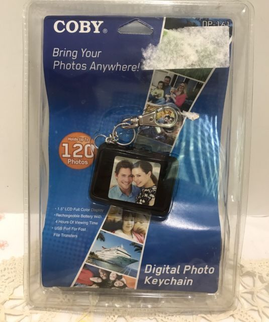 Coby Black LCD DP-161 1.5  Digital Photo Picture Keychain up to 120 Photos NEW | eBay