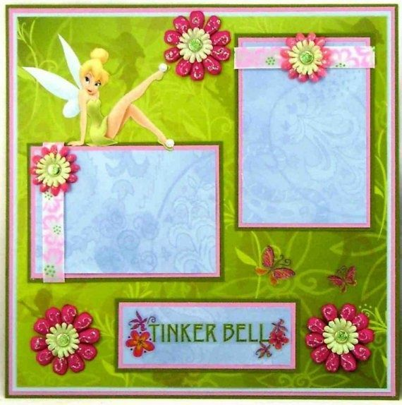 Disney Scrapbook Page Layouts | Disney scrapbook layout