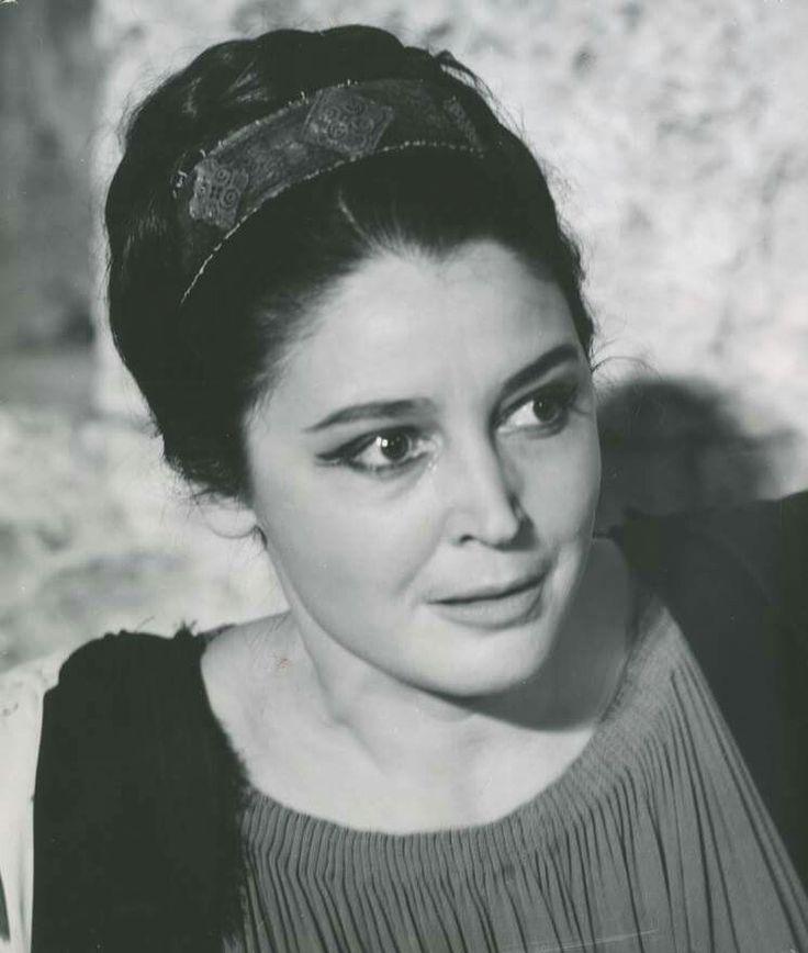 """""""Ανδρομάχη"""" του Ευρυπίδη, Εθνικό Θέατρο. 1963 Η Αννα Συνοδινού στον ομώνυμο ρόλο."""