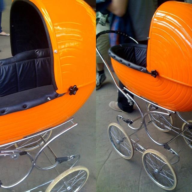 Vintage for kids... Mon landeau!!! I want it back!