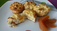 Barackos túrós muffin (kókuszlisztes, zabpelyhes recept) ~ Éhezésmentes Karcsúság Szafival