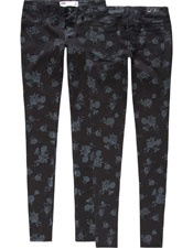 Miami Floral Womens Jeggings -