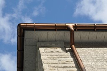 10 Best Images About Faux Copper Gutters Chimney Caps All