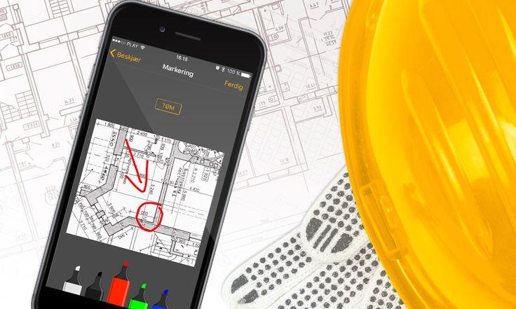 Construction project management suite https://zaven.co/projects/byggemappen.html