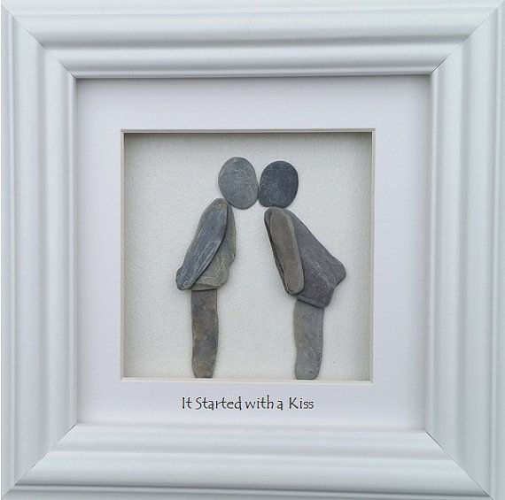 Valentine's Gifts on Etsy Pebble Art Pebble Pictures