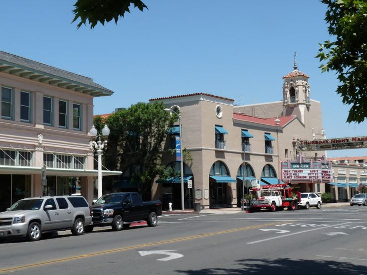 Hanford California, historic downtown photos!