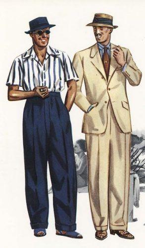 1930s mens summer attire