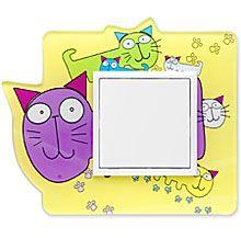 90910_ZK: 1 - rámček, farebné mačky