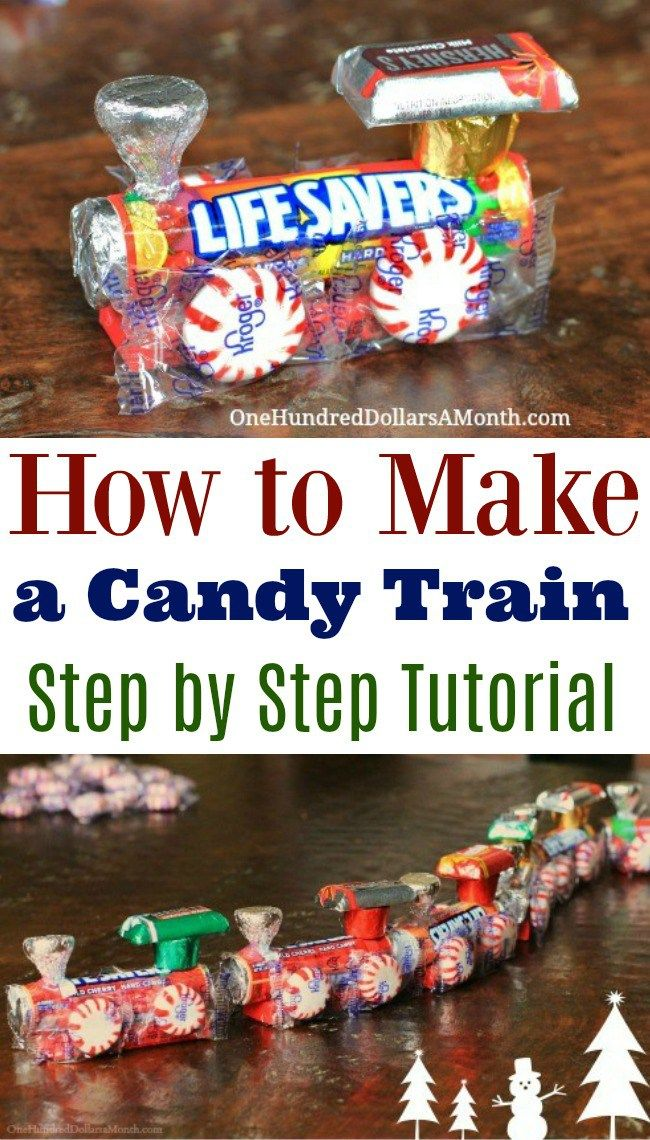 These little old school candy trains have been a tradition in our house for years. The Girl Who Thinks She's A Bird has been making them and gifting them to friends for as long as I can remember. I bet it's a tradition she passes on to her kids. Making the actual train is so …