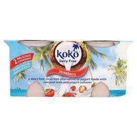 Koko Strawberry Dairy Free Yogurts