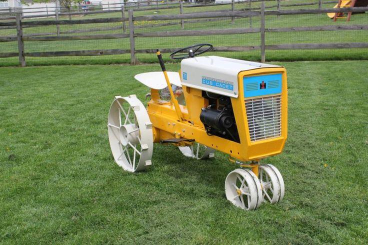 Old International Cub Cadet Lawn Tractor : Antique cub cadet international tractors and trucks