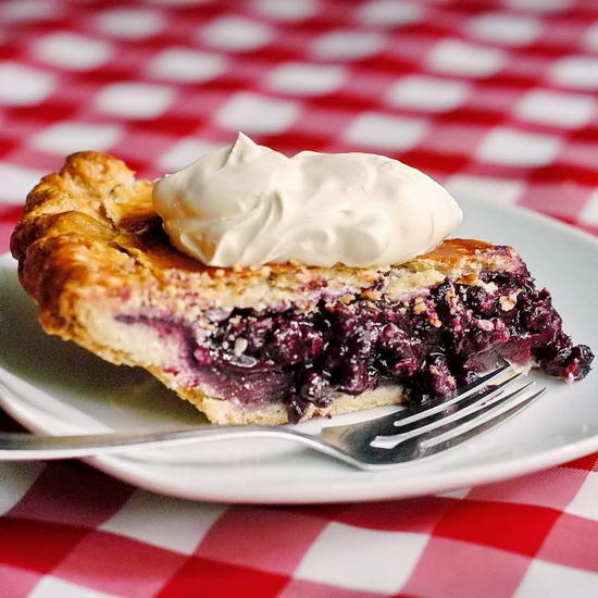 The Best Blueberry Pie  - to celebrate Canadian Thanksgiving, I'm making the same pie I've made for over 25 years; baked to flaky perfection with wild Newfoundland blueberries, a touch of spices and a little lemon zest in the filling for one incredibly delicious result. Try this pie with your own local blueberries if you can find them or even use frozen (just thaw them first).