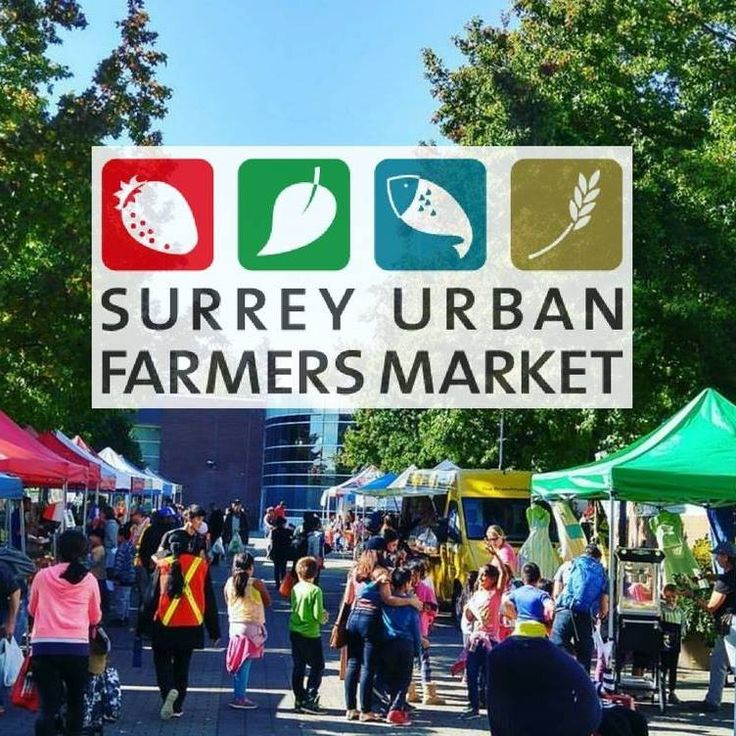 Step off the SkyTrain at Surrey City Centre after work on a Wednesday afternoon this summer and you can pick up locally-grown produce and ingredients for dinner on your way home at the Surrey Urban Farmers Market. Surrey Urban Farmers Market Where: North Surrey Rec Centre Plaza (10275 City Parkway, Surrey) When: Wednesdays until October 4, 2017 from 2:00pm to 6:00pm Vendors include: Lea Lake Farm, VK Fruit Farm, Barnston Island Farm, Oh My Greens!, Gesundheit Bakery, Baguette & Co, Dragon...