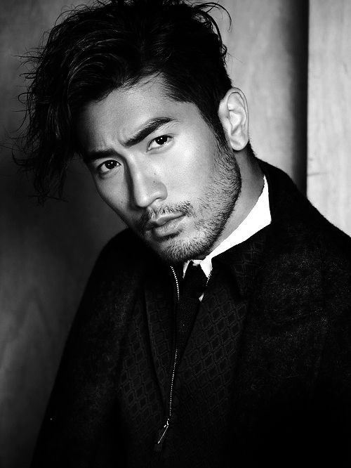 "warmachined: "" Godfrey Gao for Men's Folio Singapore """