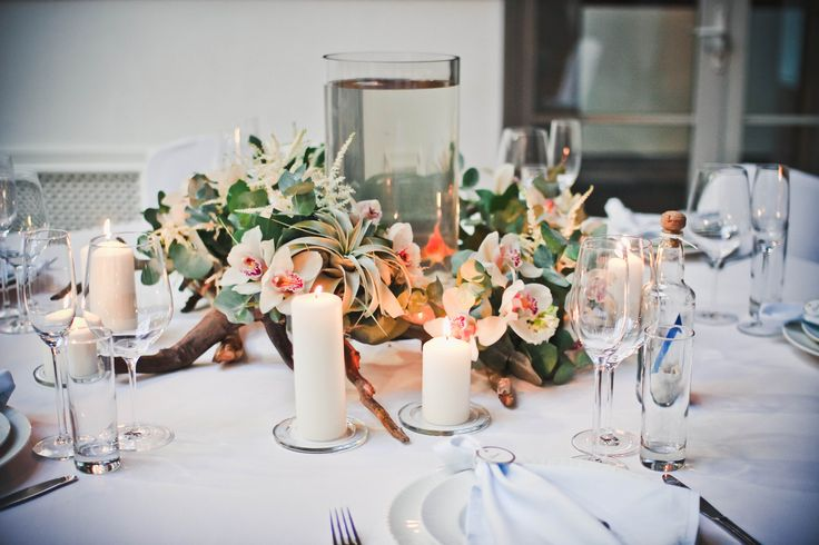 wedding reception decor. sea wedding ideas