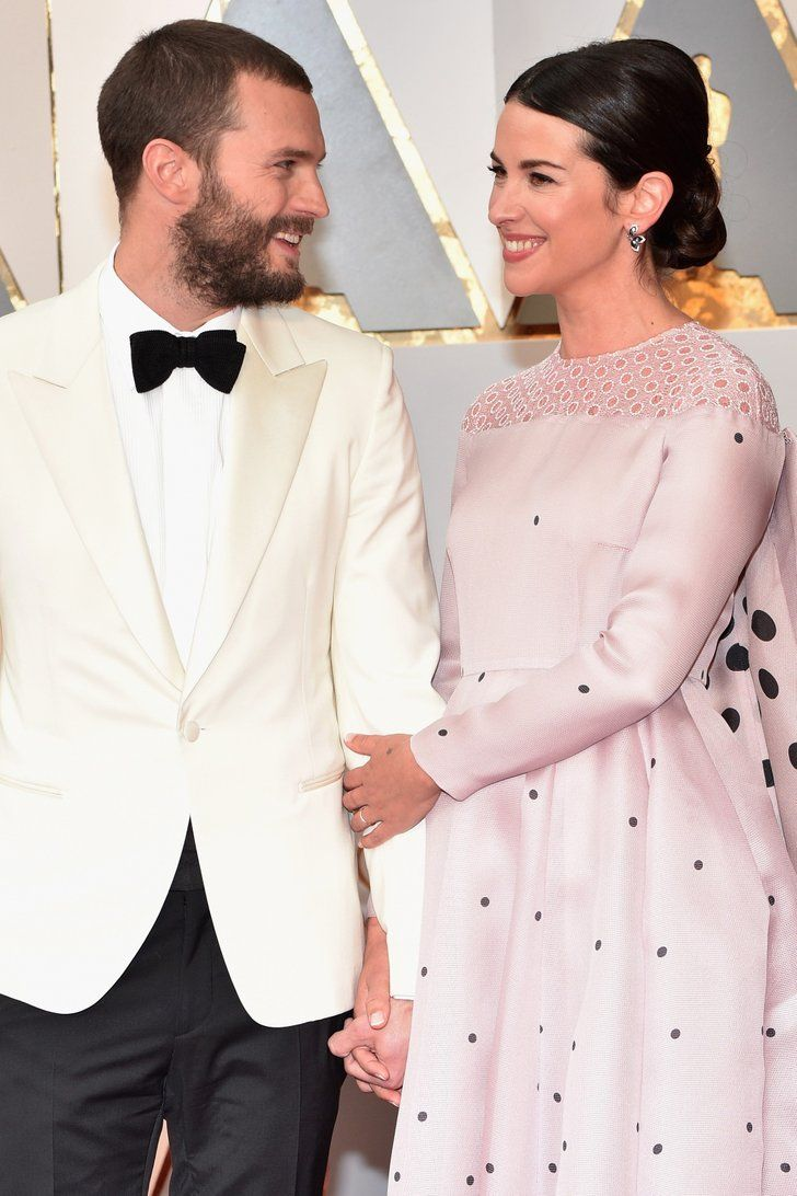 Jamie Dornan and Wife Amelia Warner Look 50 Shades of Cute at the Oscars