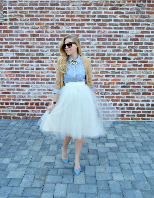Tulle Skirt - Spring 2015 Style