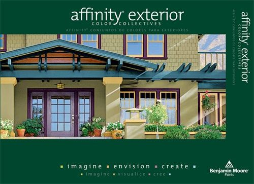 Benjamin Moore Affinity Exterior Paint Color Card | color & paint ...