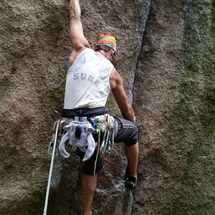 Herman Chalk Bag by Craftic Climbing
