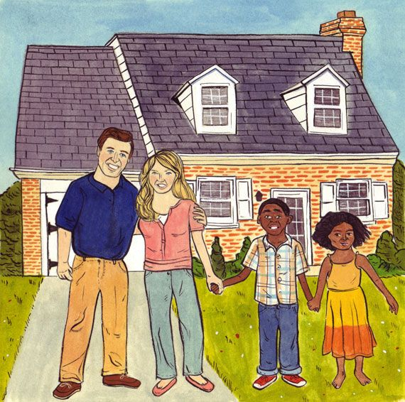 """Great article on Transracial adoption:    """"Parents should be careful to raise their children to live in this world, not the one they wish existed."""""""