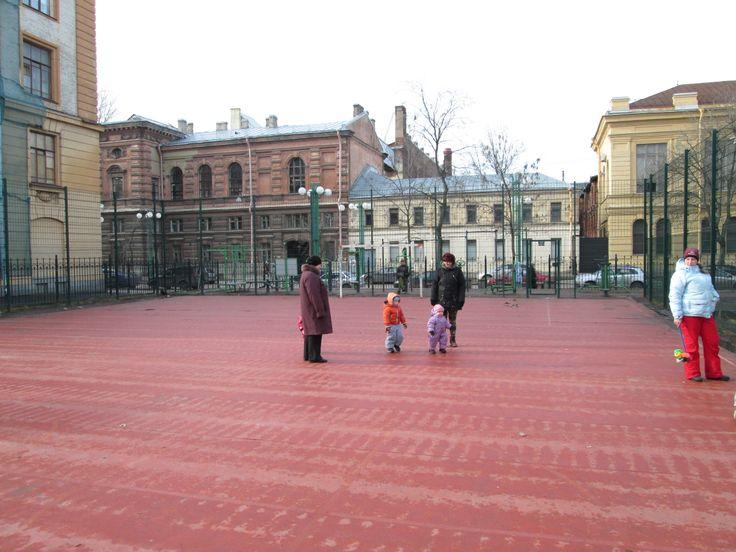 детская площадка на Соляном пер.