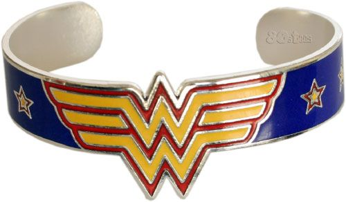 Wonder Woman!Woman Metals, Wonder Women, Metals Bracelets, Woman Bracelets, Super Heroes, Wonder Woman, Bracelets Bangles, Bangles Style