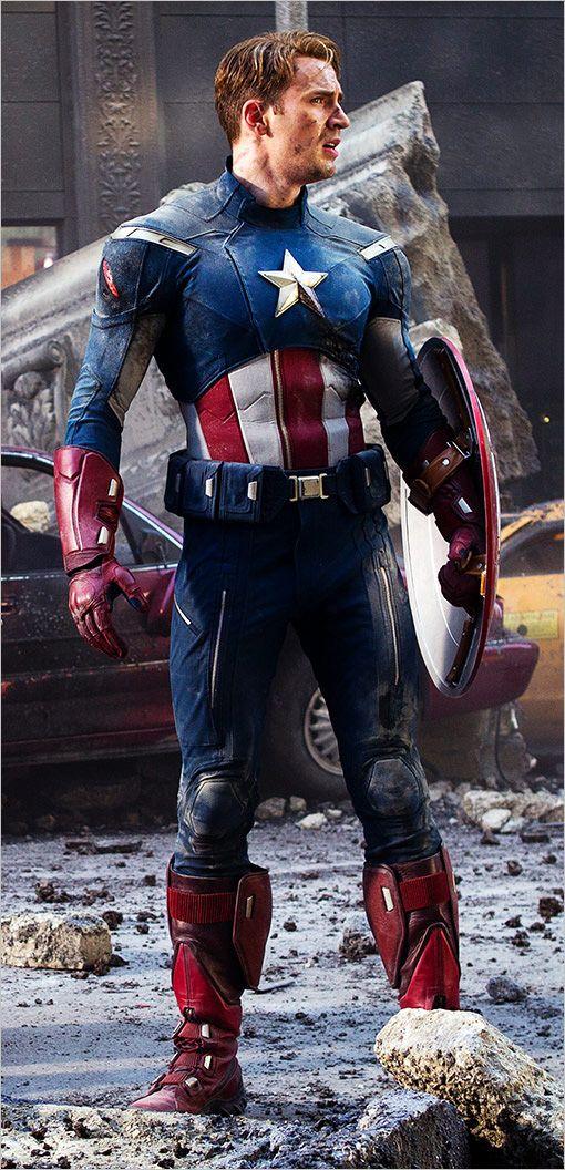 BIOGRAFIA SENCILLA DELS VENGADORS TOTS Capitán América despues de una dura batalla
