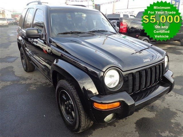 2002 Jeep Liberty Limited 4WD - $5,993 Levittown, PA 855-644-6876 125,000 miles John's Rt 13 Auto Sales