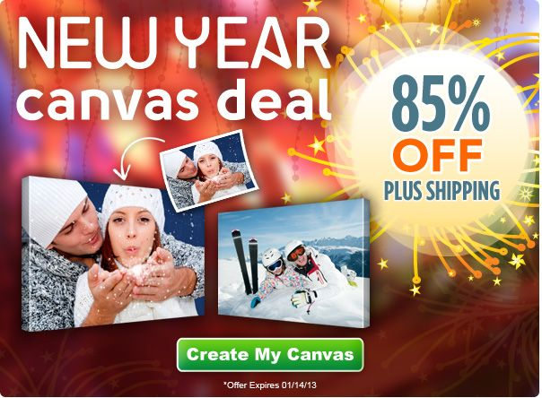 Canvas People: 85% off Canvases