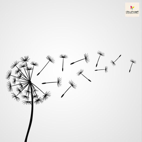 185 Best Images About Dandelions Illustrations On