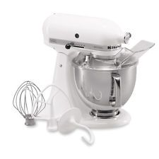 [$260.2 save 45%] KitchenAid RRK150WH White 5-quart Artisan Tilt-Head Stand Mixer (Refurbished) http://www.lavahotdeals.com/ca/cheap/kitchenaid-rrk150wh-white-5-quart-artisan-tilt-head/134964