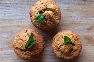 Haver muffins met appel en banaan