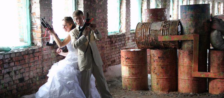 лазертаг на свадьбу