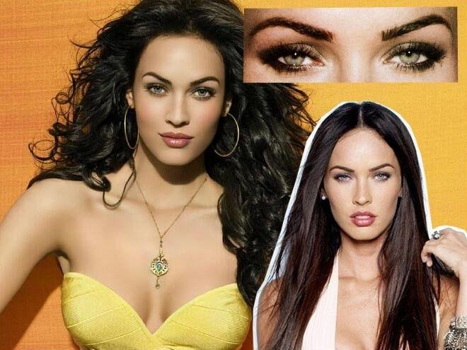 Megan Fox Eye Makeup Tutorial Close Up Look At Almond Eyes Minki Lashes Eye Makeup Tutorial Celebrity Eye Makeup Eye Makeup