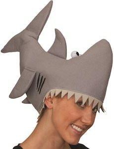 Bitting Shark Hat