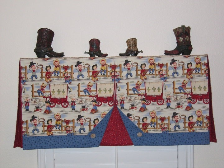 Find This Pin And More On Cowboy Curtains.
