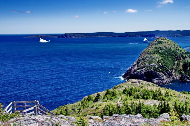 Hiking the Sugar Loaf Path on the East Coast Trail in St. John's, Newfoundland hikebiketravel.com