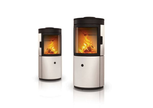 Stub Wood Stove concept by Emo Design for MCZ