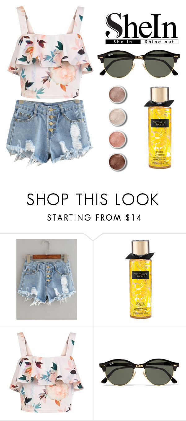 """.She In."" by love-australia ❤ liked on Polyvore featuring Victoria's Secret, New Look, Ray-Ban and Terre Mère"