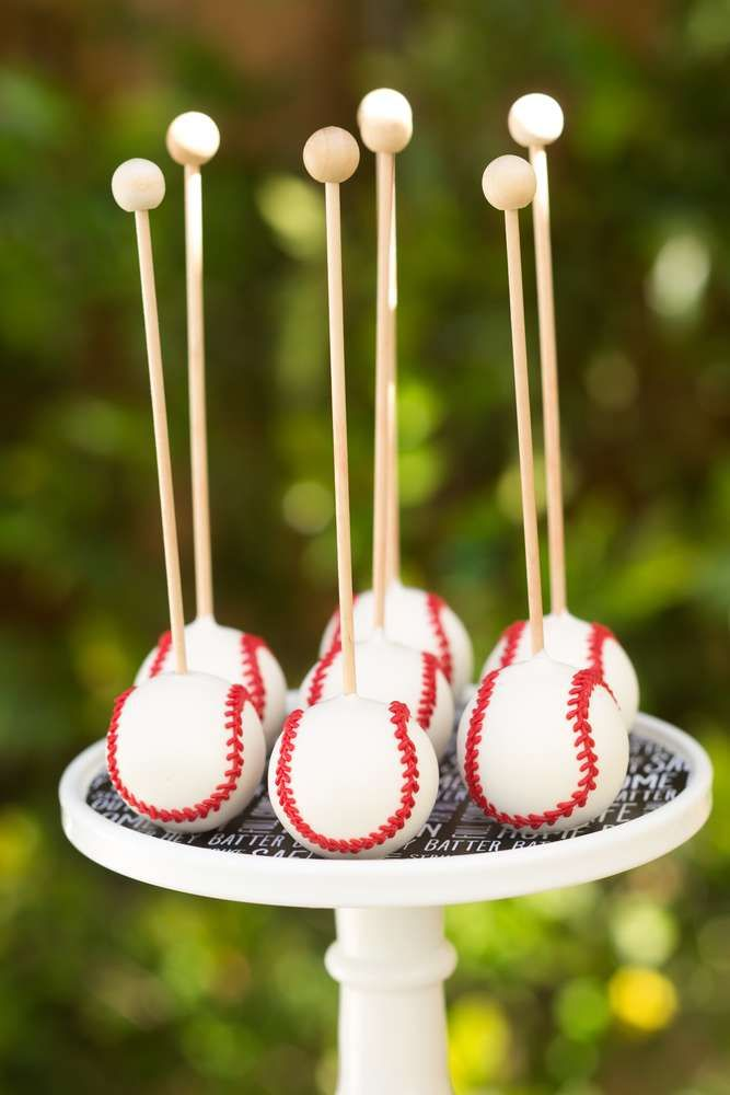 baseball Birthday Party Ideas | Photo 1 of 77 | Catch My Party