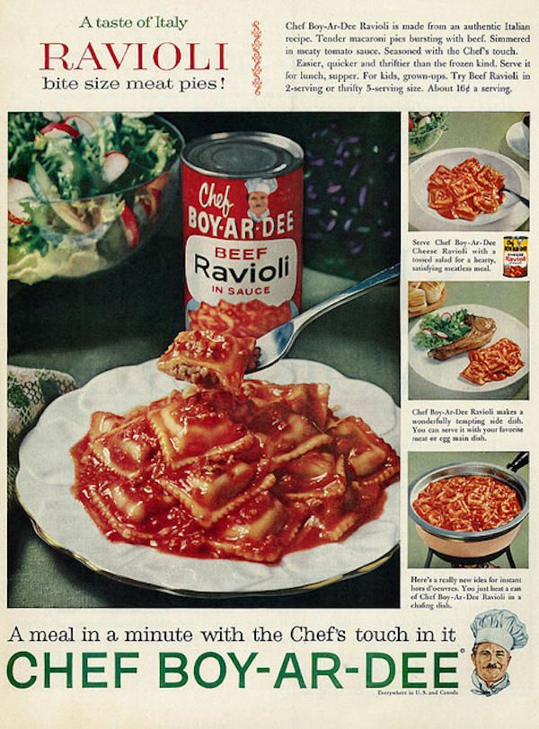 13 Delicious Facts About Chef Boyardee | Mental Floss