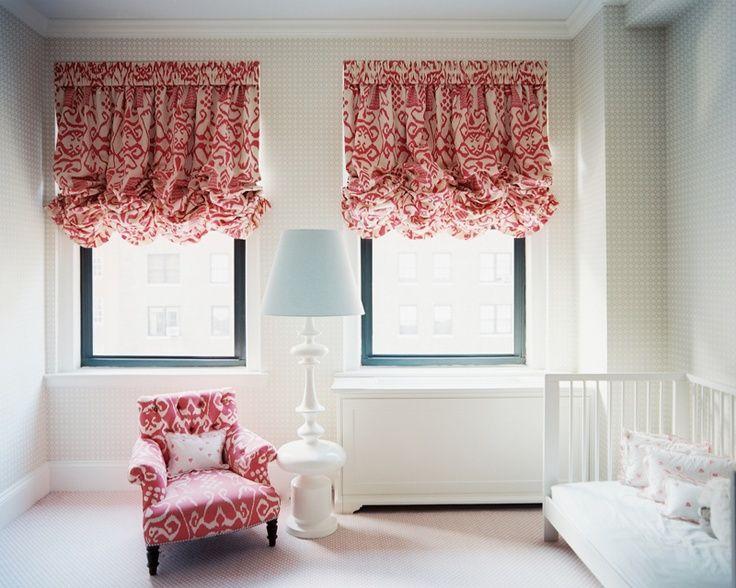 how to make balloon shade curtains