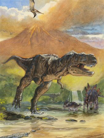 The extinction of the dinosaurs occurred during then end of the Cretaceous Period, around 65 million years ago, and caused the loss of up to 70 percent of all life on the planet.