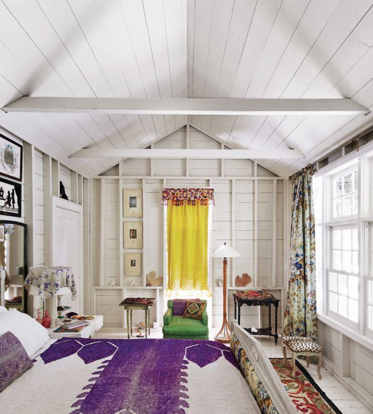 Ian and Emilie Irving's Hampton house. Photo Simon Watson for T magazine