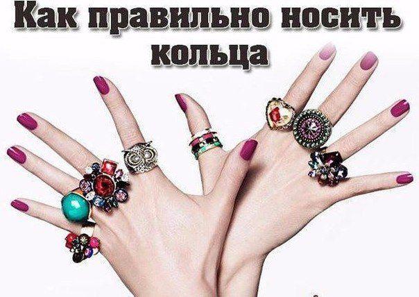 На какой палец надевается кольцо?