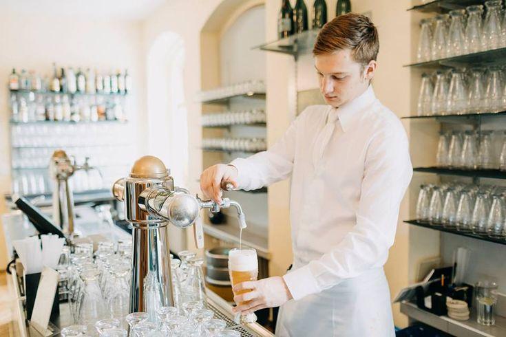 F&B Catering Paspův sál - piva Staropramen na čepu