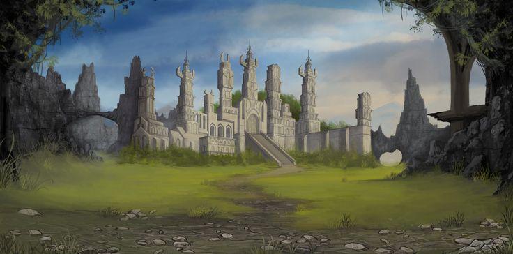 Temple Clash of Swords