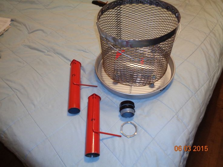 Uds Vents And Fire Basket Or Charcoal Basket For Ugly Drum