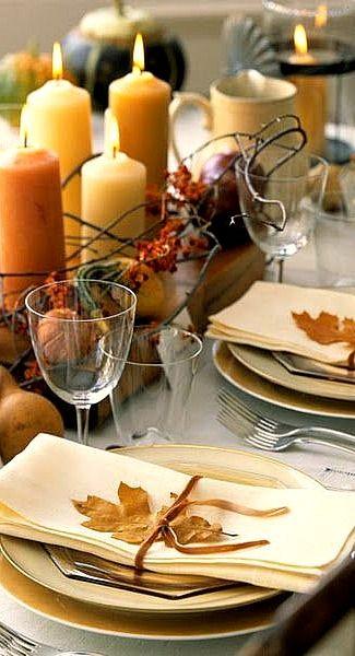 fall table.....