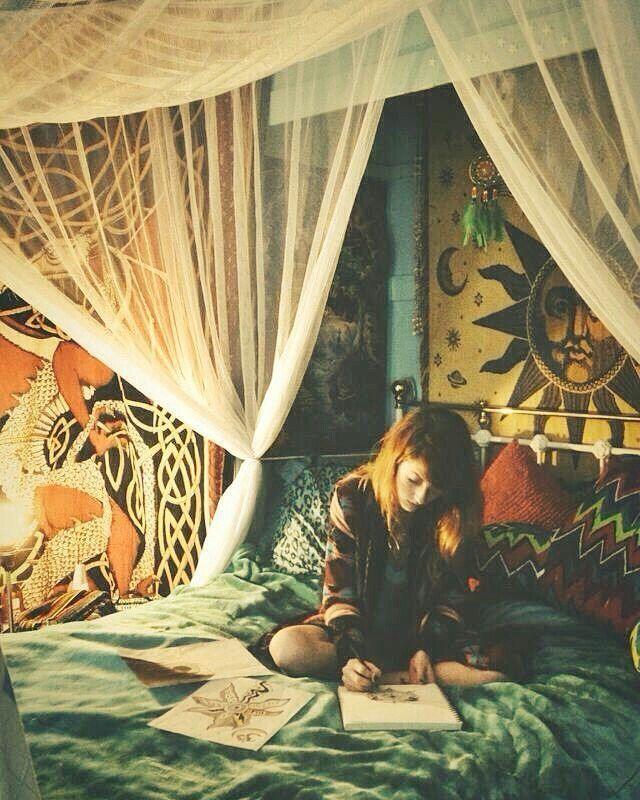 Ber ideen zu stoner bedroom auf pinterest hippie schlafzimmer hippie zimmer und - Hippie zimmer ...